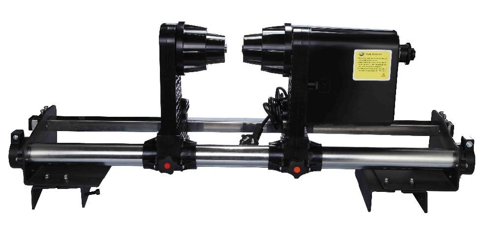 Одномоторная бумажная система захвата для всех Mutoh RJ900 RJ8000 RJ8100 VJ1604 VJ1618 VJ1628 VJ1638 система катушки принтера