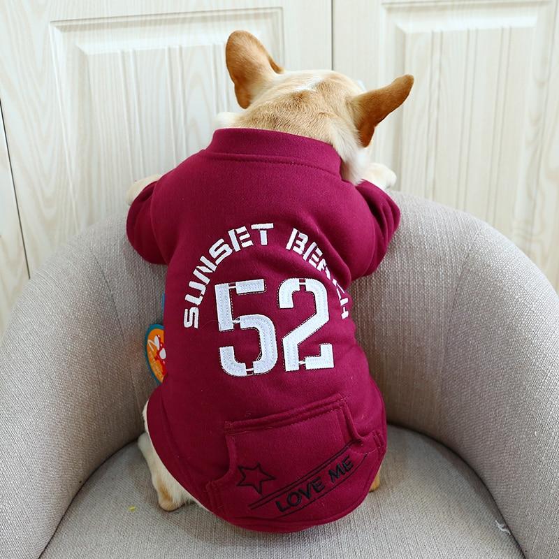 Creatief Sport Pet Hot Hond Kostuum Hond Herfst Lente Pet Jasje Shirt Twee Been Puppy Kleding Voor Franse Bulldog Terrier Levert Kat Het Voeden Van Bloed En Het Aanpassen Van De Geest