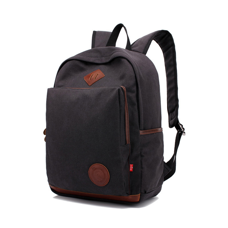 AUGUR New Men Backpack Canvas School Bags 15.6 inch Laptop Bags for Teenagers Vintage Mochila Casual Rucksack Travel backpack ozuko brand men travel backpack 2018 new style casual school bag for teenagers 14 15 inch laptop masculina shoulder bags mochila