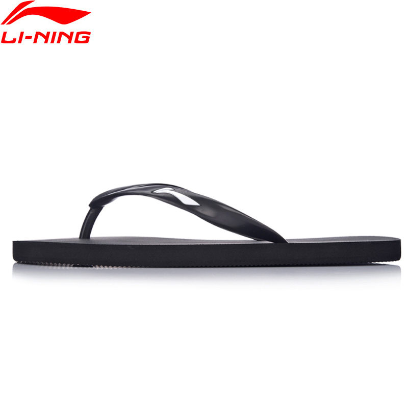 Li-Ning Men Beach Sandals Basic Style Breathable Outdoors LiNing Fitness Sport Shoes ALSM011 XMT246