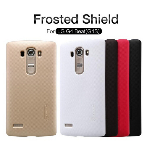 For LG LG G4 Beat / G4S CASE Nillkin Frosted Shield Hard Back Cover Case For LG G4 Beat /G4S mobile phone case+ Screen Protector