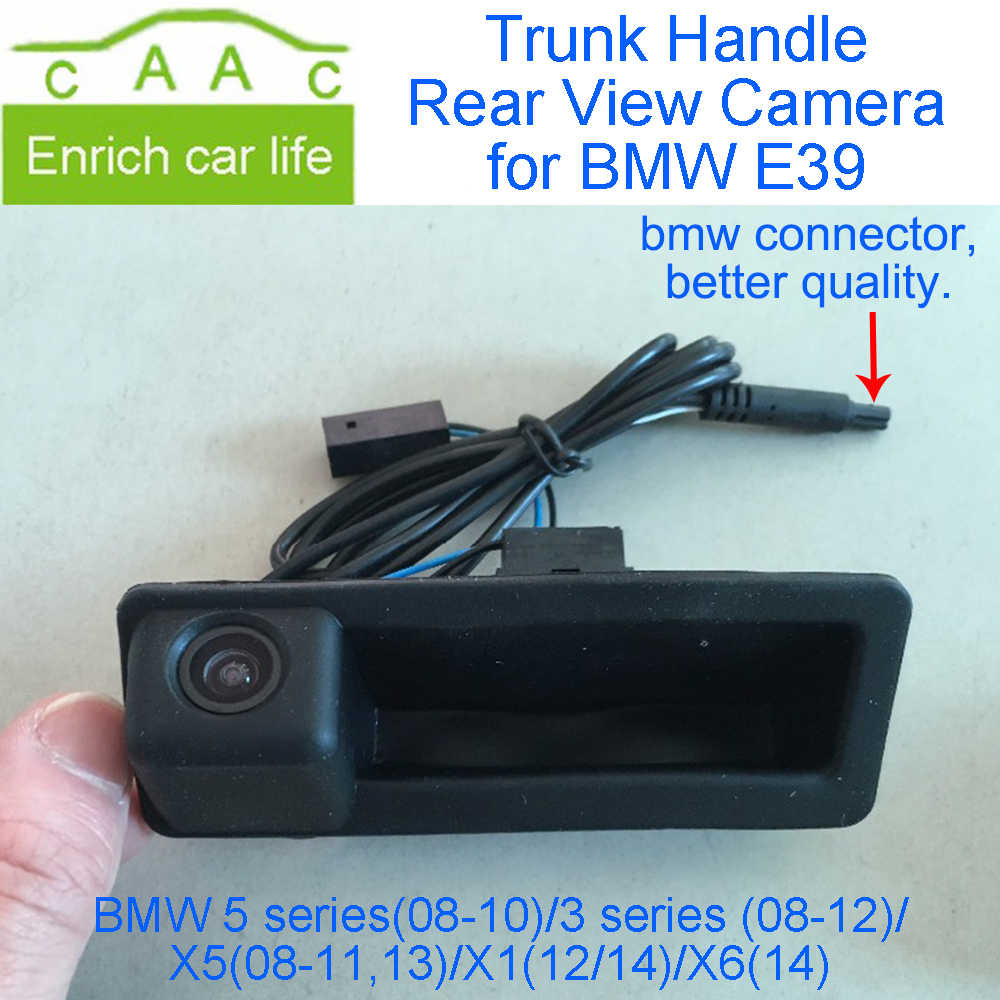 medium resolution of dycaion rear view camera car reverse back boot trunk handle camera special for bmw 5 series