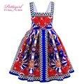 Pettigirl muchachas del verano vestido de la honda princesa jacquard bebé vestidos patrones boutique kids clothes gd90129-582f