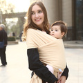 2016 Hot Sale Promotion Baby Sling Mochila Stretchy Wrap Carrier Two Shoulders Comfortable Cotton Hipseat Baby Canguru Backpack