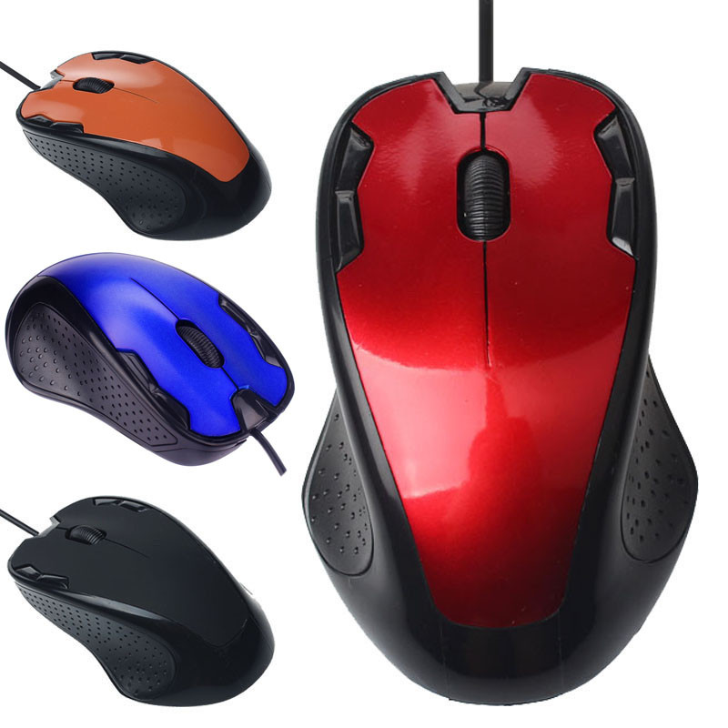 Luxury Optical 1800DPI Wired Mouse USB Wired Optical Gaming Mice Mouse For PC Laptop Computer Mouse Gamer Mice 528#