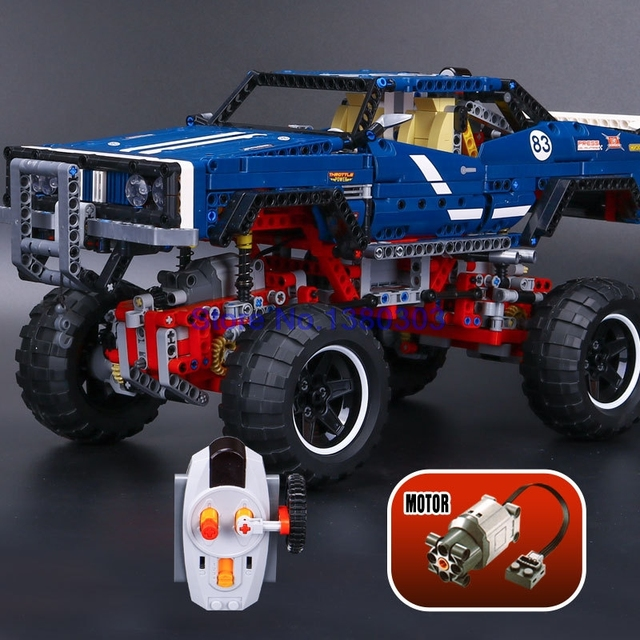 Lepin 20011 Technic 4x4 Crawler Exclusive Edition Building Blocks