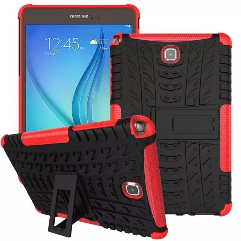 Ağır Hibrid Zırh Sert Kapak Samsung Galaxy Tab Için Bir 8.0 T350 - Tablet Aksesuarları - Fotoğraf 4