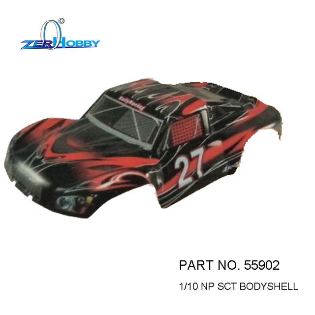 1 10 Rc Truck Hard Body Shell Canopy Rubicon Topless For: 2PCS PER LOT RC CAR BODY SHELL 46*23CM 55902 17104 FOR HSP