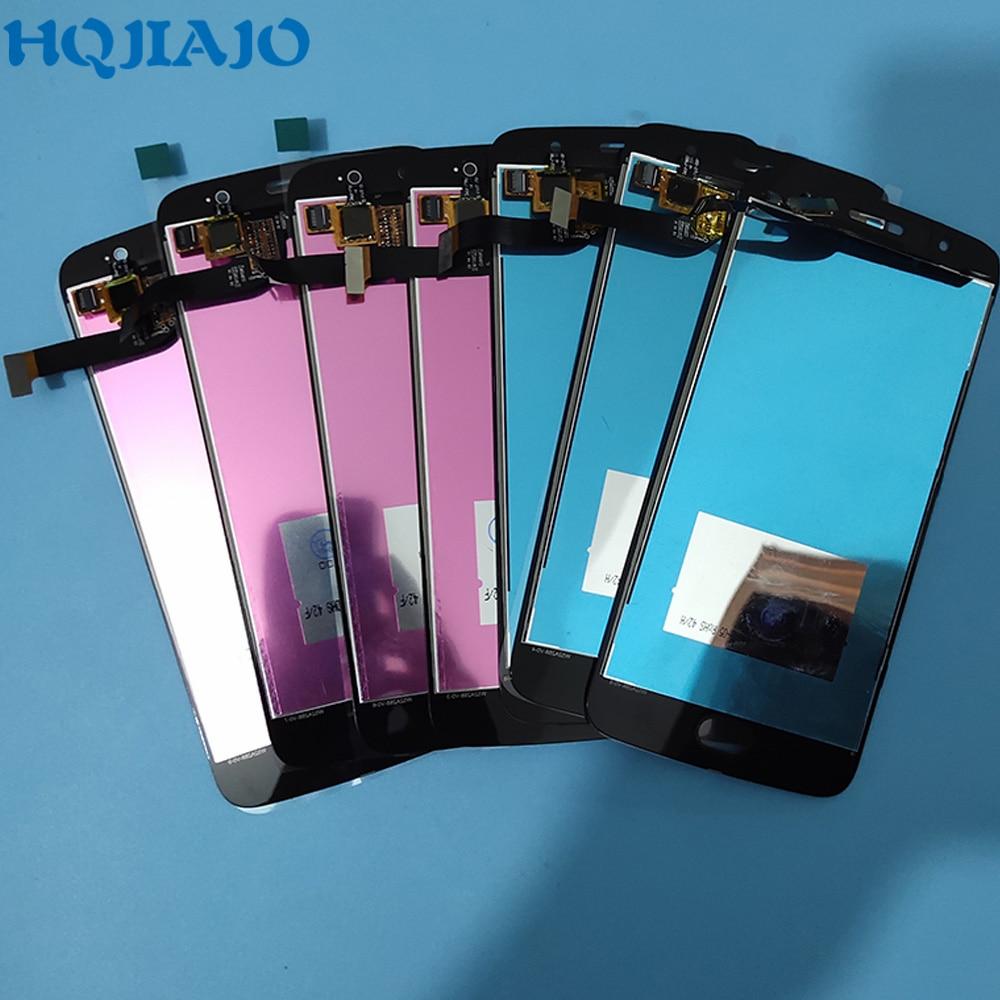 10Piece lot Super AMOLED LCD Screen For Motorola Moto G5S XT1793 XT1794 XT1792 LCD Display Touch