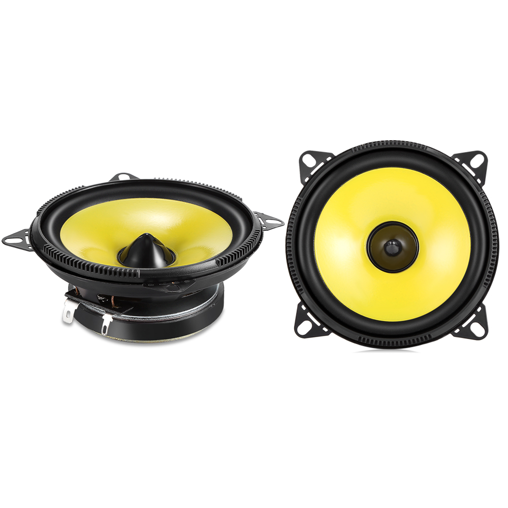 2 Pcs Labo Car Audio Speaker LB-PS1401D 4-Inch Car Full-Range Speaker Stereo System s3w se 2 0 multimedia speaker system mini multimedia speaker 1way order vented full range speaker 3 full range driver bass