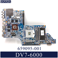 KEFU 659095 001 Laptop motherboard for HP DV7 6000 original mainboard HD6770M