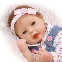 50cm Silicone Reborn Baby Doll Toy Lifelike