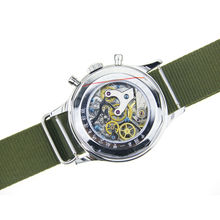 New Mens Aviator Watch Pilot Seagull Mechanical Chronograph