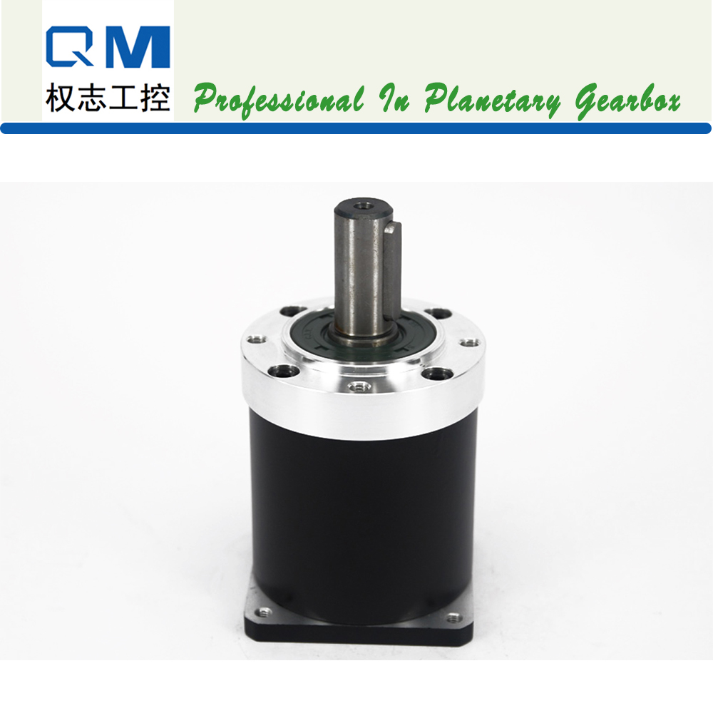 Nema 24 Planetary Gearbox Reducer Gearhead Ratio 15~50:1 Low Backlash Steel Gear for Stepper Motor Brushless DC Motor nema23 geared stepping motor ratio 50 1 planetary gear stepper motor l76mm 3a 1 8nm 4leads for cnc router