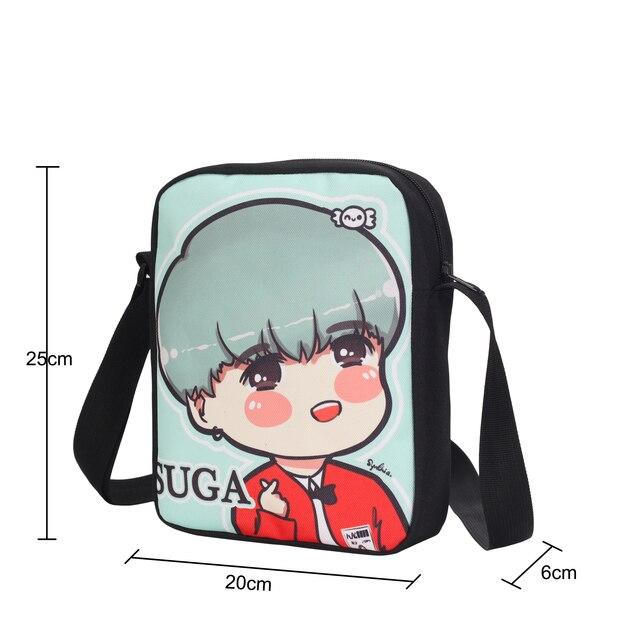 Naruto Mini Messenger School Bag Backpack