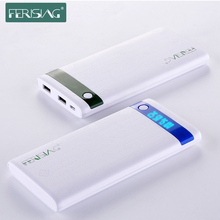 Ferising Power Bank 10000 мАч Двойной USB Powerbank Со СВЕТОДИОДНЫМ Дисплеем Портативное Зарядное Устройство Внешняя Батарея Банк Для Смартфонов tablet