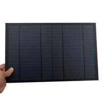 18 в 556mA 10 Вт 10 Вт солнечная панель стандартная ПЭТ поликристаллическая Кремниевая Зарядка для 12 В Модуль заряда батареи мини солнечная батар...