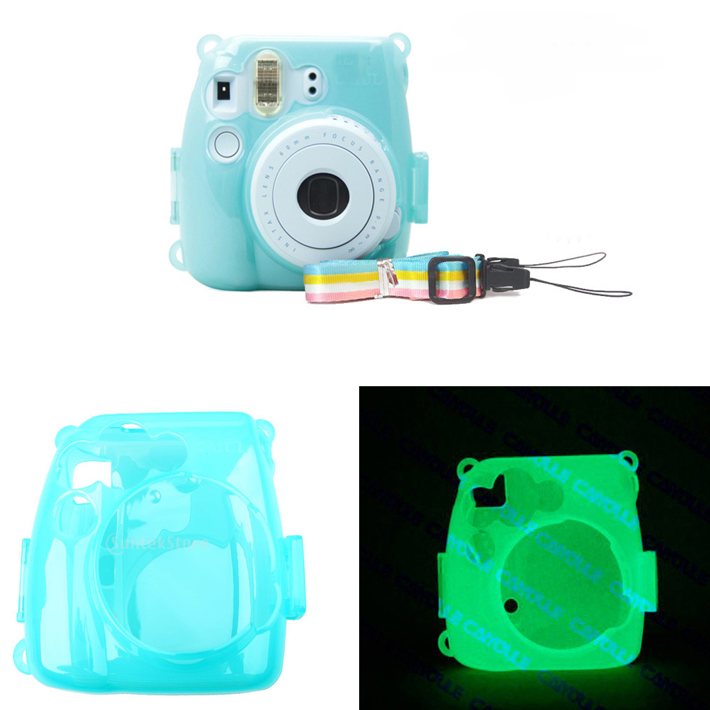 Luminous Hard Case Protector Cover for Fujifilm Instax Mini 8/9 Camera
