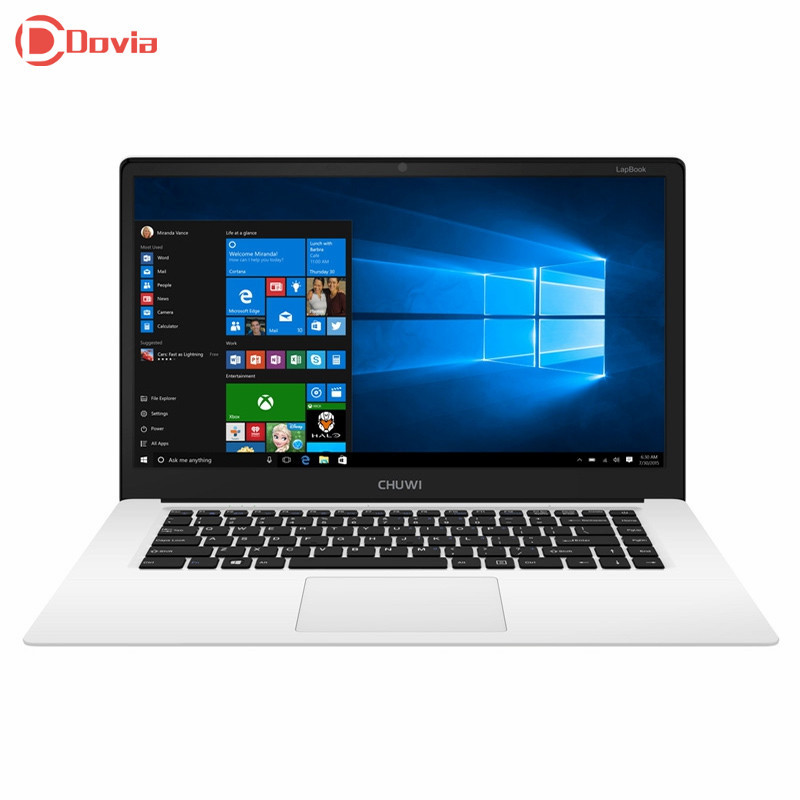 CHUWI LapBook 15.6 inch FHD Screen Notebook Intel Cherry Trail Z8300 Quad Core Windows 10 4GB RAM 64GB ROM 10000mAh Tablet PC