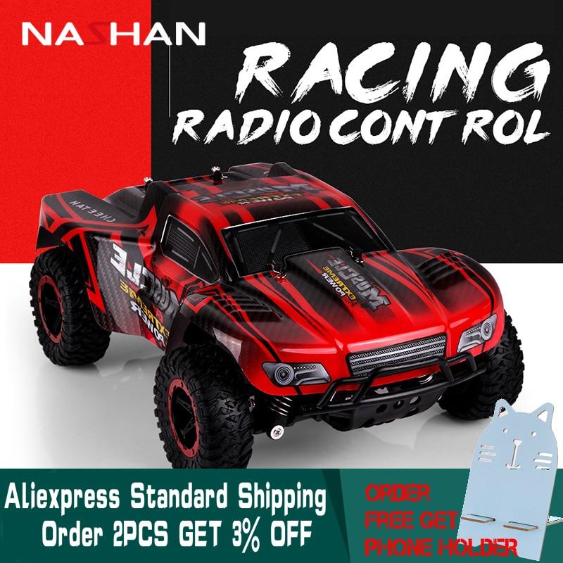Nashan 1:16 2.4 ghz Électrique RC Voiture Rock Crawler Télécommande Jouet Voiture Radio Contrôlée Drive Off-Road Jouets pour Garçons Enfants Cadeau