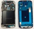 Бесплатная доставка Передняя Корпус Рамка Рамка для Samsung Galaxy S4 i9505 i337 жк рамка серебро/Черный цвет