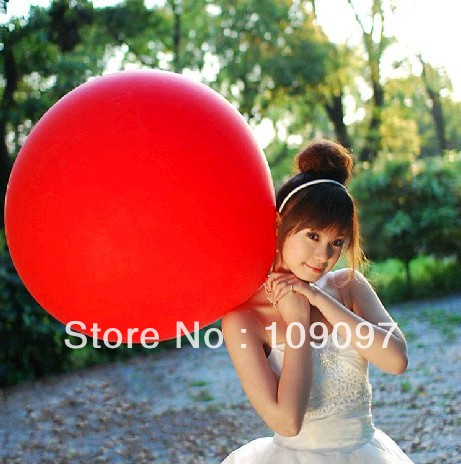 Free Shipping 10pcs/lot Wholesale 10 Colors 36 Inch Big Balloon Helium Inflable Latex Balloons Birthday Party Decoration Balloon