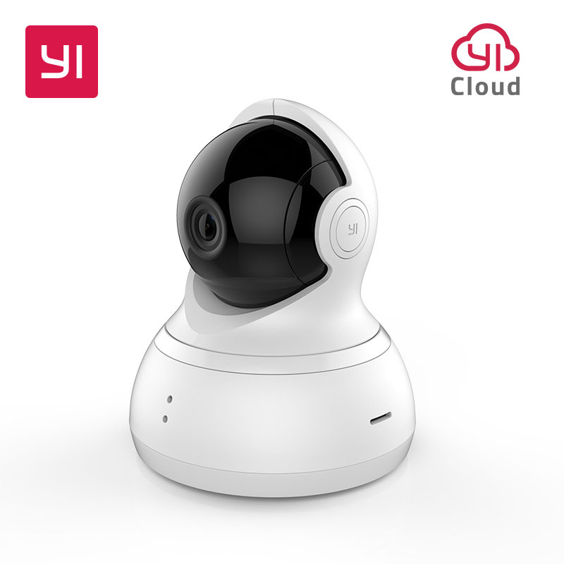 YI Dome Camera 720P Night Vision Pan/Tilt/Zoom Wireless IP Surveillance System Home Security EU Edition Cloud Service AvailableYI Dome Camera 720P Night Vision Pan/Tilt/Zoom Wireless IP Surveillance System Home Security EU Edition Cloud Service Available