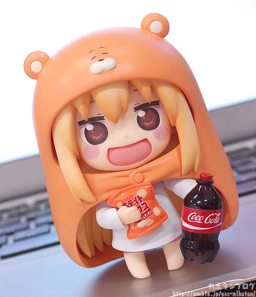 10cm Himouto Umaru-chan Nendoroid Umaru #524 Anime Action Figure PVC toys Collection figures for friends gifts 30