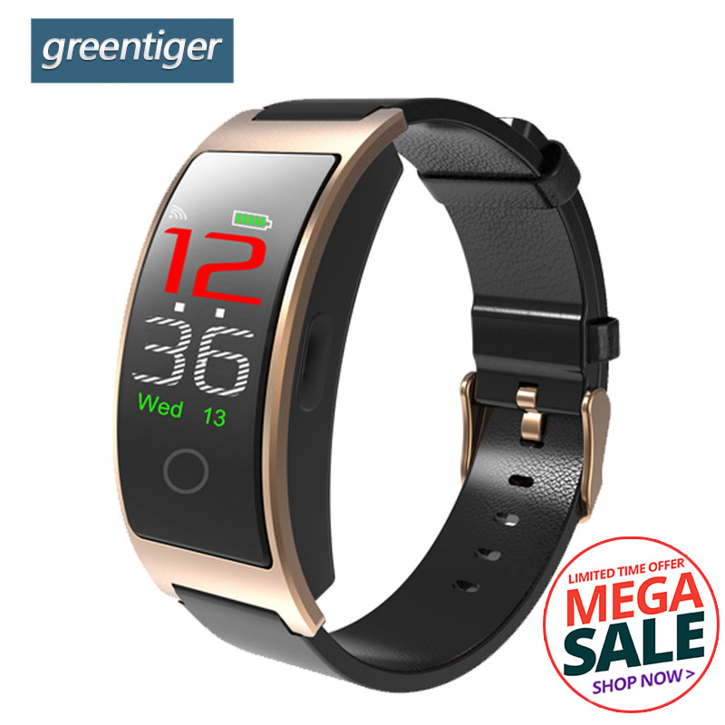 Greentiger CK11C Smart Band Blutdruck Herz Rate Monitor Smart Armband Farbe Bildschirm Ios Android PK Ck11s Smart Armband