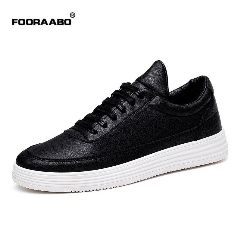 Fooraabo Luxury Brand Men Shoes