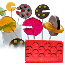 1 pc silicone Form for chocolate and baking silicone chocolate mold(China)