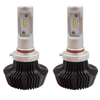 1 Pair 80W 8000LM Auto Car LED Headlight 9005 H1 880 6000K Conversion Leds Headlamp Hi