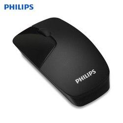 Philips SPK7402 oryginalny 2.4G bezprzewodowa mysz optyczna przenośna podkładka pod mysz z 1600 DPI dla Home Office biuro biznes laptopa MacBook