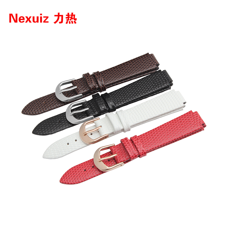Watch Straps Watchbands Cowhide Leather  Watch bands  16*11mm  lizard grain for AR0745/AR0744 | Watchbands