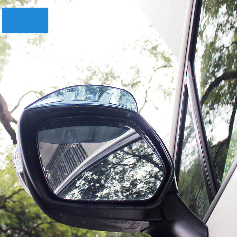 lsrtw2017 Plexiglass car rearview rain shield for subaru xv forester outback impreza legacy 2013 2014 2015 2016 2017 2018 2019 in Interior Mouldings from Automobiles Motorcycles