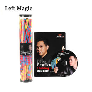 Magic Tricks Fantastic-Rope Street Stage Linking-Rope Professional Close-Up Pei DVD Jeremy