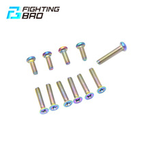 FightBro titanium alloy ball toy CNC BD556 split rubber gearbox airsoft paintball shooting air gun accessories