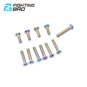 Image 1 - Fightbro titanium 合金ボールおもちゃ cnc BD556 分割ゴムギアボックスエアガンペイントボールシューティングエアガンアクセサリー