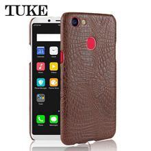 TUKE Crocodile Pattern Case For OPPO F5 Celular PU Leather Hard Back Cover  Case For OPPO 114961192d3b