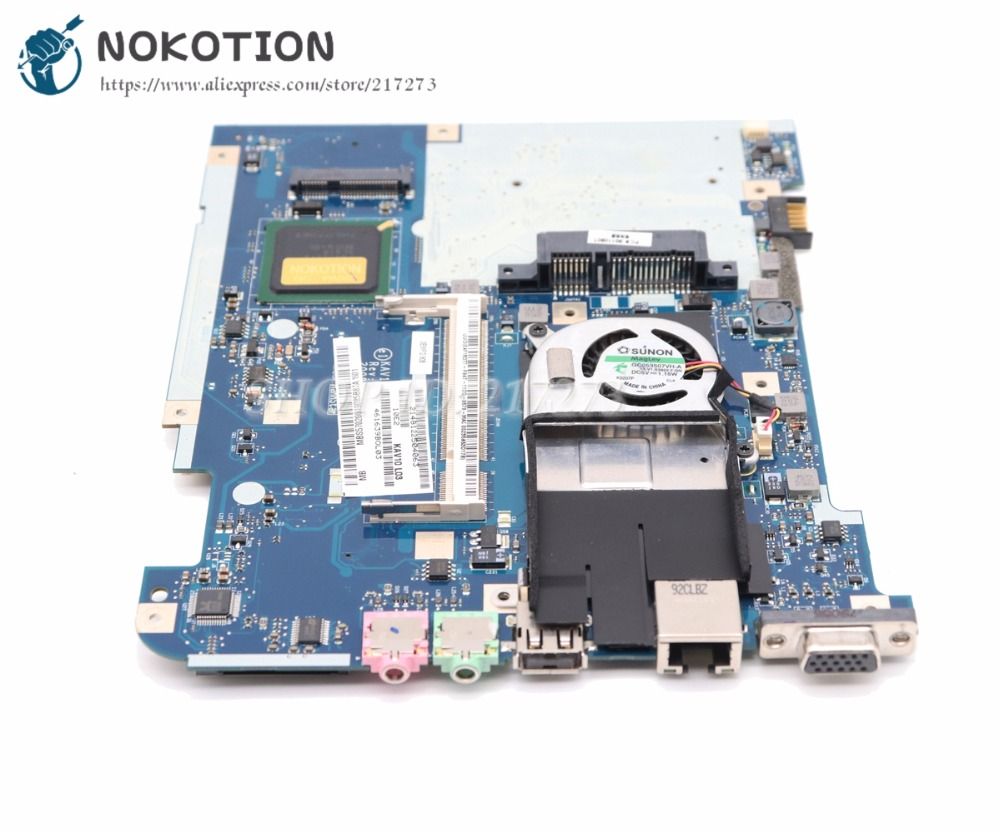 NOKOTION NEW Laptop Motherboard For Acer aspire D150 MAIN BOARD MBS5702001 KAV10 LA 4781P N270 CPU DDR2 Laptop Motherboard    - title=