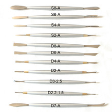 Italian Refined High-grade Stainless Steel Professional Sculpture Tools Clay Soft Pottery for Modeling Plastic Polymorph