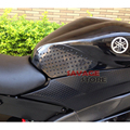 For YAMAHA YZFR6 YZF-R6 2006-2013 Motorcycle Tank Traction Pad Side Gas Knee Grip Protector Anti slip sticker 3M Black