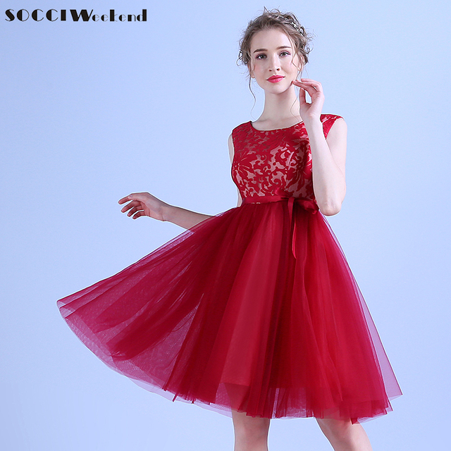 Socci Mother Of The Bride Short Cocktail Dress Lace Up Back