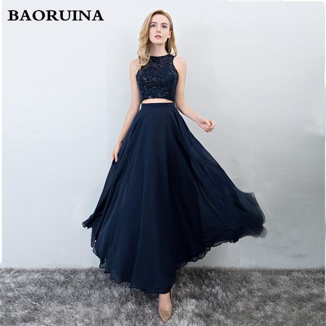 4df7115721 Evening Dresses Long Ever Pretty Women Elegant Navy Blue green Seven colors  o-neck Sleeveless Empire Evening Dresses 2018 New