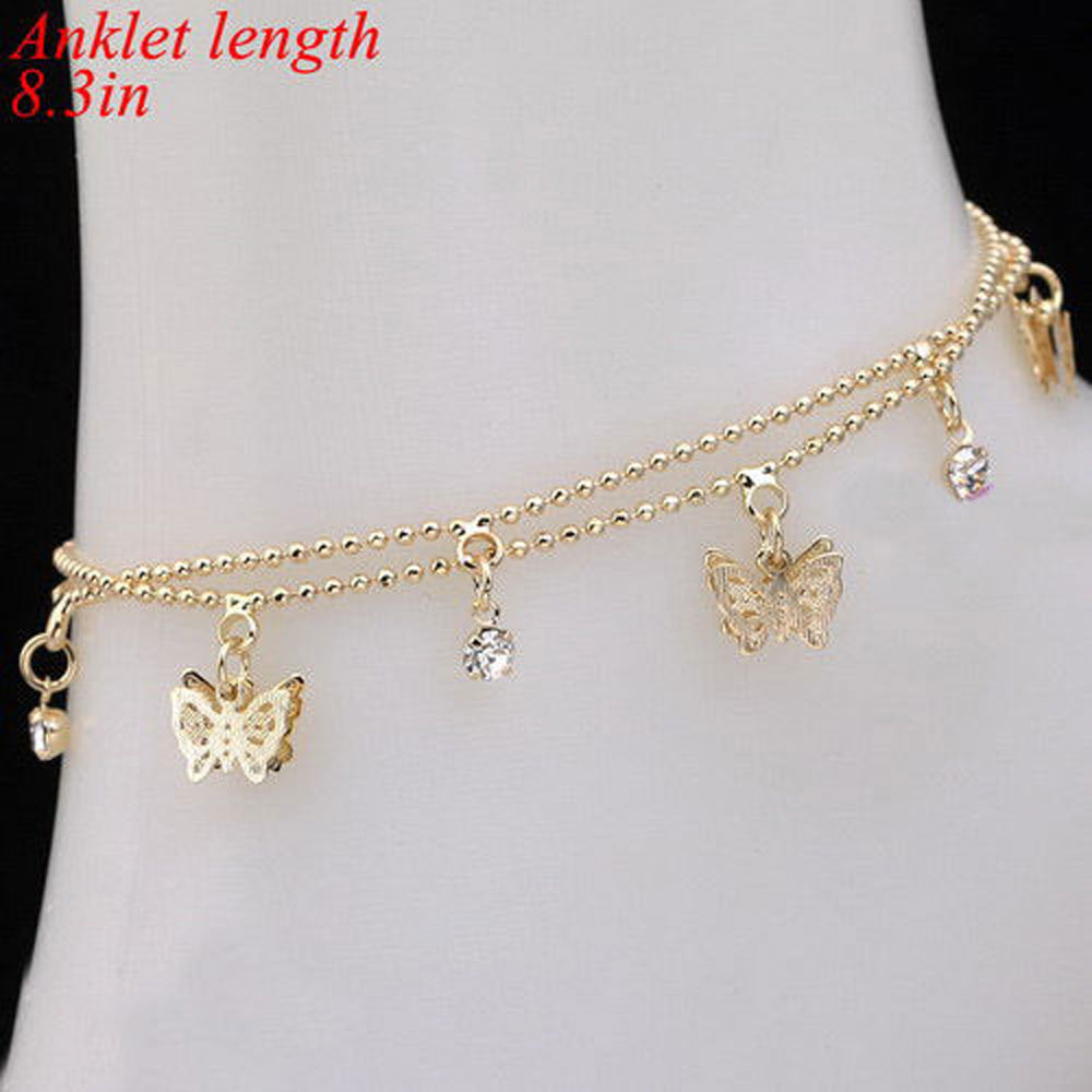 inch bracelet of pair plated g jewelry stainless products steel w and collections cherries photo sterling bracelets cherry chain heart model charms charm anklet s rolo with enamel ankle silver ion wholesale gold adornment