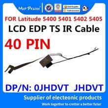 LOUCO DRAGÃO Marca novo laptop Lcd LVDS Cable para Dell Latitude 5400 5401 5402 5405 TS EDC41 EDP LCD IR cabo toque 0 JHDVT JHDVT