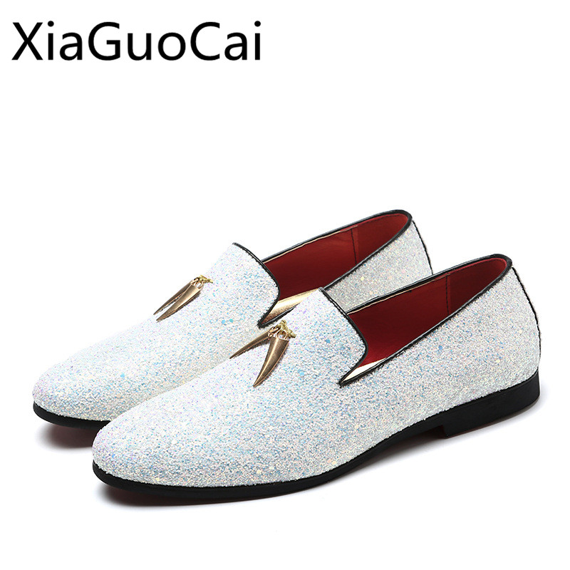 2018 Summer Fashion White Loafers Hot