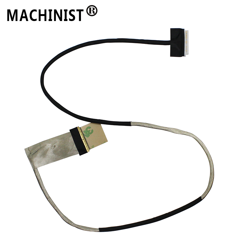 MACHINIST Video Screen Flex For Lenovo Y510P 1080P HD FHD Laptop LCD LED LVDS Display Ribbon Cable DC02001KT00