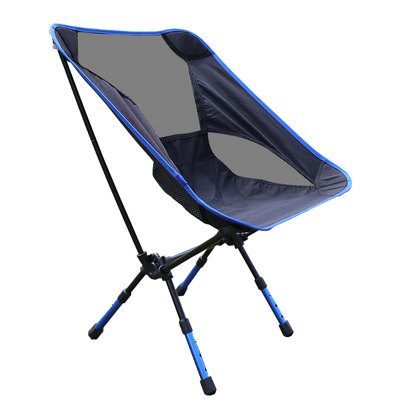 Happy 2019 Camping Outdoor Ultralight Chair Height Adjustable Portable Folding Chairs Backpacking Picnic Fishing