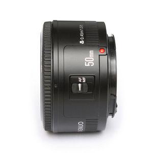 Image 5 - YONGNUO YN EF 50mm f/1.8 soczewki AF przysłony automatyczne ustawianie ostrości YN50mm f1.8 obiektyw do modeli Canon EOS lustrzanki cyfrowe